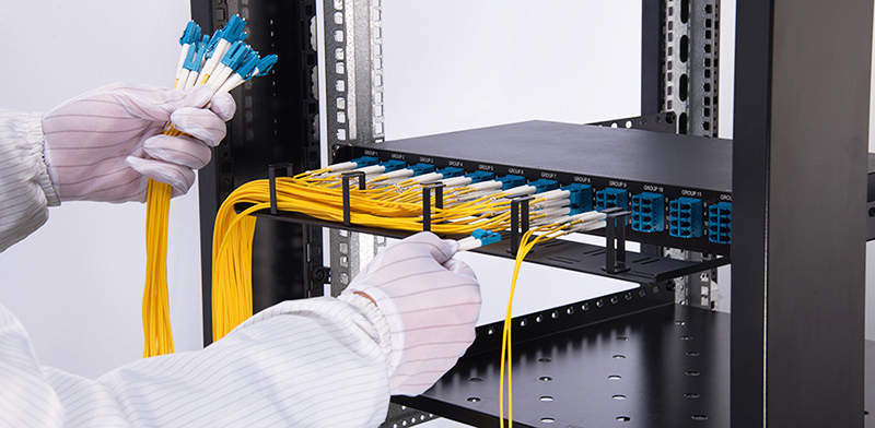 Structured Cabling Fiber Optic Panel Fiber Optic Magnetic Cable Management Tree
