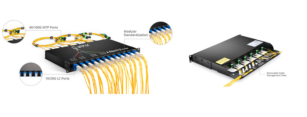 96-fiber-breakout-patch-panel-for-high-density-cable-management