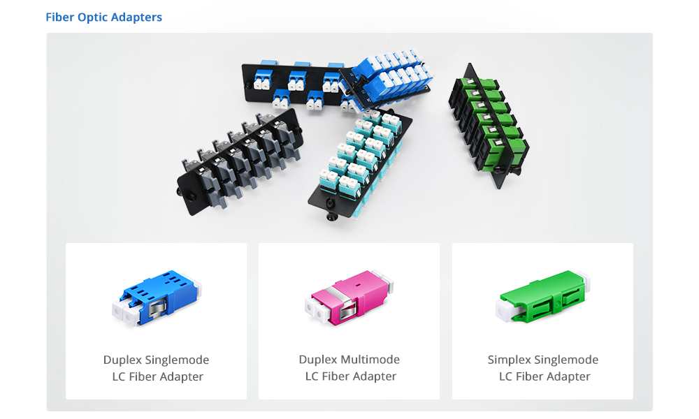 LC Fiber Connector, Adapter and Cable Assemblies | FS Community