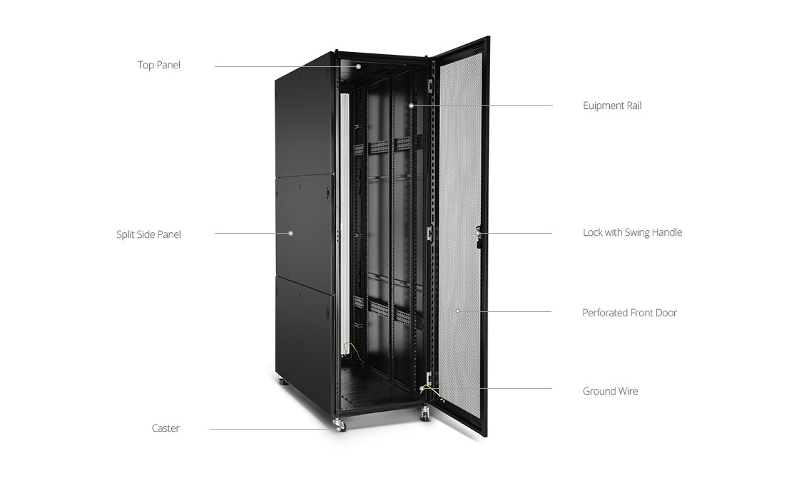 Cabinet Enclosed Rack