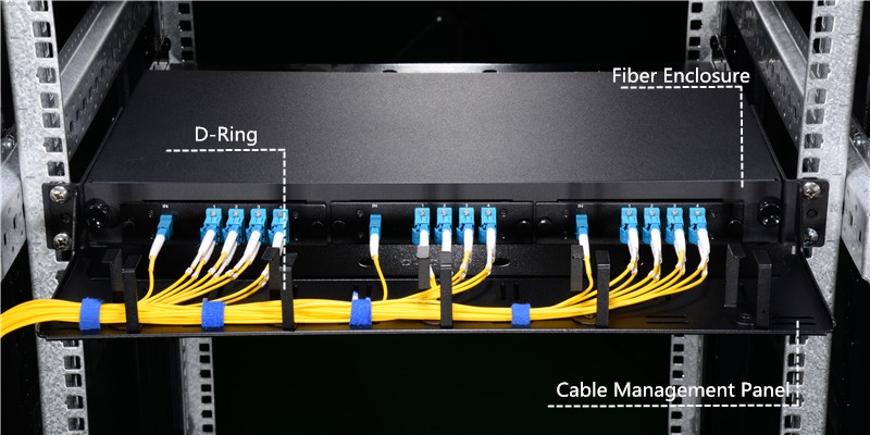 D-ring and fiber enclosure