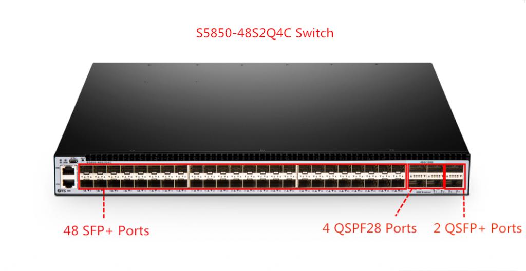 S5850-48S2Q4C 100G switches