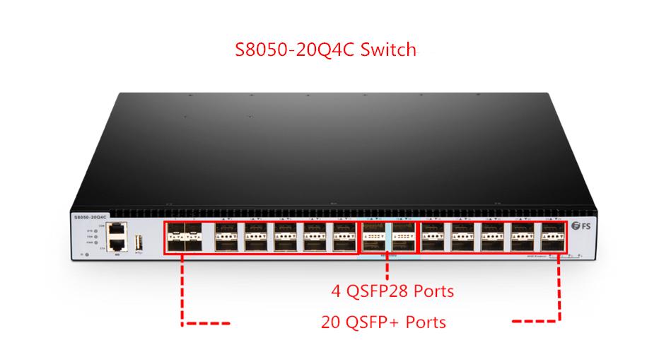 altS8050-20Q4C 100G switches