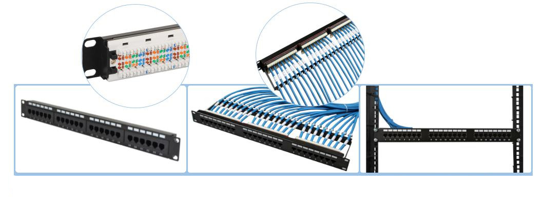 punch down patch panel installation