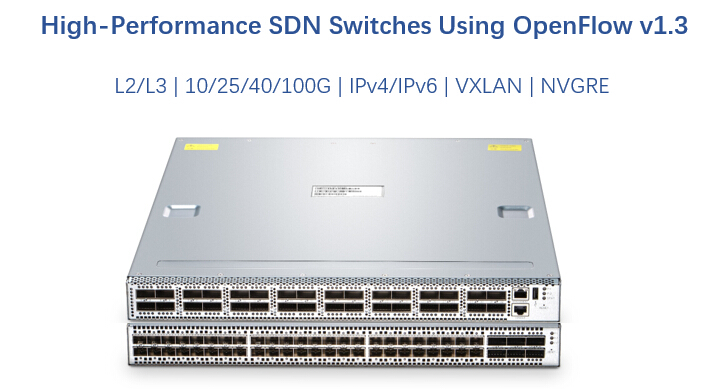 High-performance SDN switches supporting OpenFlow v1.3