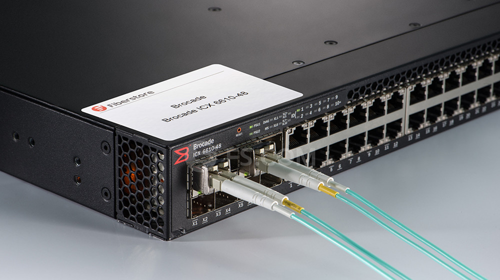 Transceiver and Cabling Options for Brocade ICX 6610 | FS