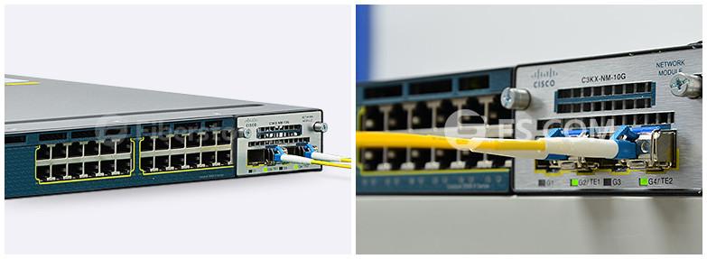 Fiber Optic Solutions for Cisco C3KX-NM-10G Module | FS