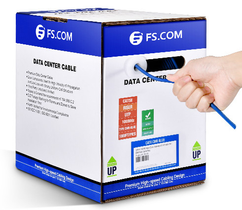Cat5e PVC CMR Bulk Ethernet Cable