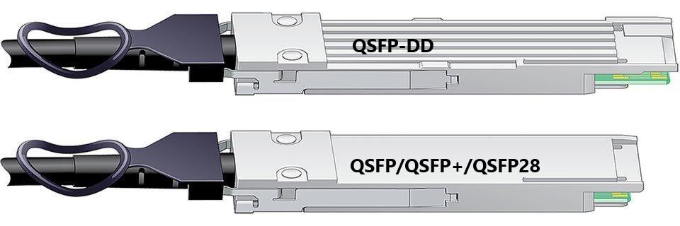 400G Ethernet Transceiver: QSFP-DD vs QSFP