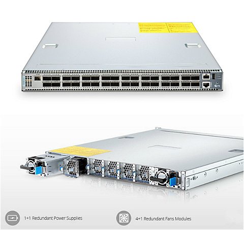 100G switch overview