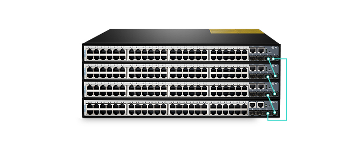 FS S3900-48T4S Gigabit Stackable Managed Switch