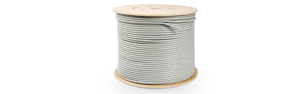 Cat5e Bulk Cables   Cat5e UTP Solid PVC CMR Cable, Spool