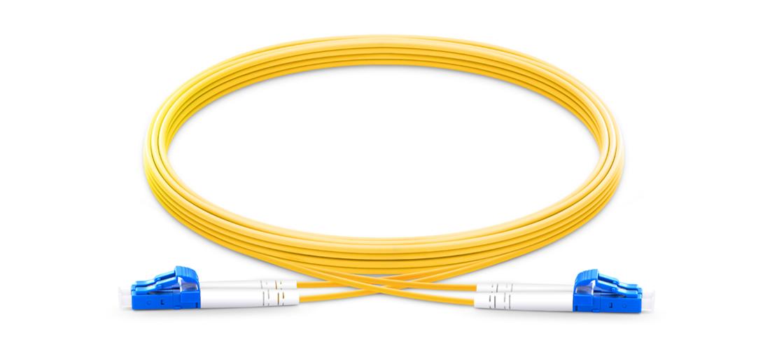 OS2 9/125 Singlemode Duplex  Industry Standard Flammability Rating OFNR (Riser) Jacket Fiber Optic Cable