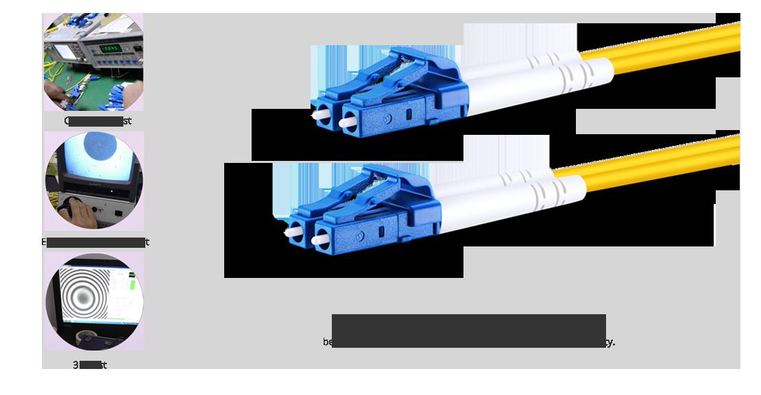 OS2 9/125 Singlemode Duplex  High Quality Fiber Optic Cable Guarantee