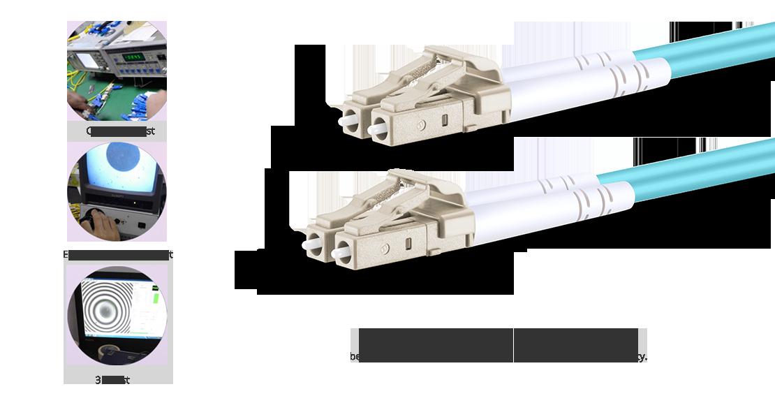 OM4 40 100Gb 50/125 Multimode  High Quality Fiber Optic Cable Guarantee