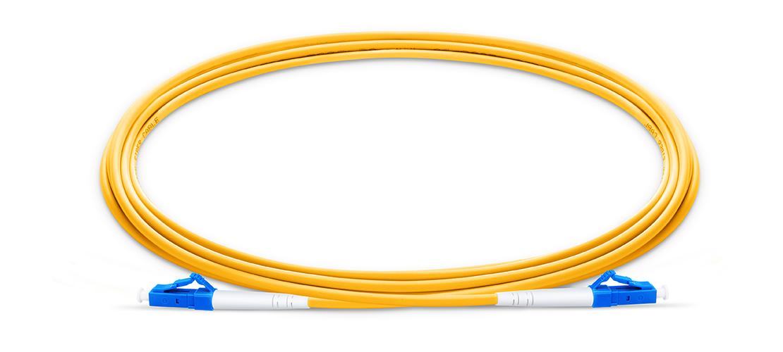 OS2 9/125 Singlemode Simplex  Industry Standard Flammability Rating OFNR (Riser) Jacket Fiber Optic Cable