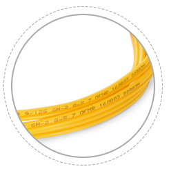 OS2 9/125 Singlemode Simplex Printing helps clarify and recognize different cables