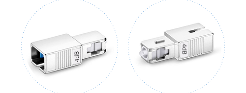 Optical Attenuators  2. Durable metal shell for permanent protection