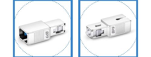 Optische Dämpfungsglieder  2. Strapazierfähige Kunststoffschale für dauerhaften Schutz