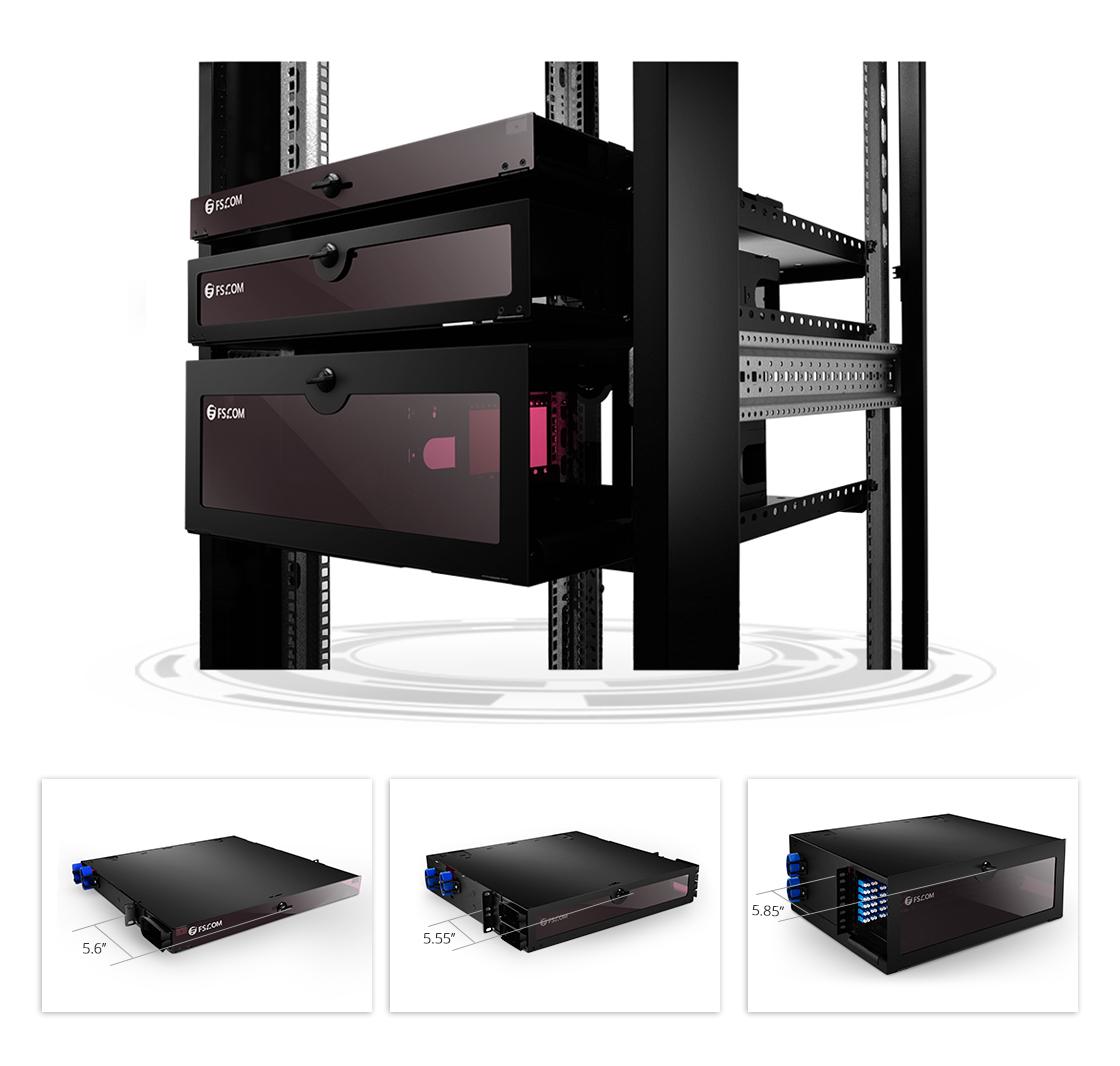 FHD Fiber Enclosures  High Density FHD Series Enclosure