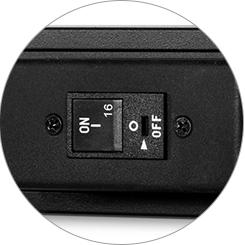 Rackmount PDU Power Strips Circuit Breaker
