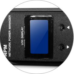 Rackmount PDU Power Strips Local Monitoring