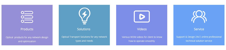 Switches Ópticos  Productos y servicios para una mejor red