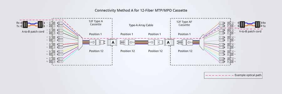 12-fiber method A polarity