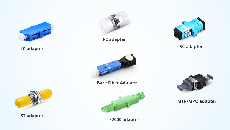 Different Types of Fibre Optic Adapters