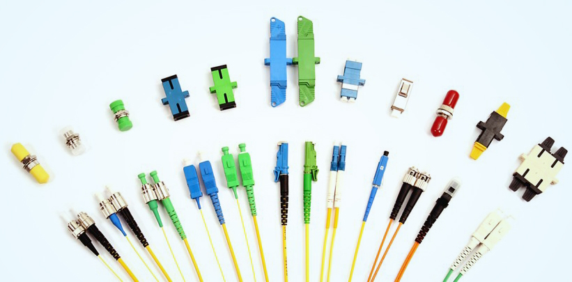 Various Types of Fibre Optic Adapter