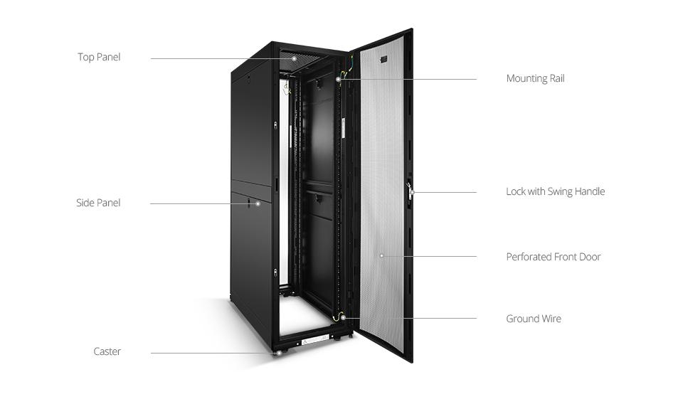 GR600-series server cabinet