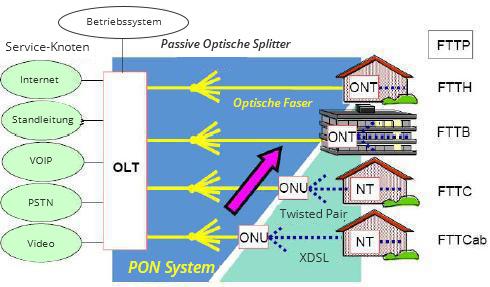 pon netzwerk