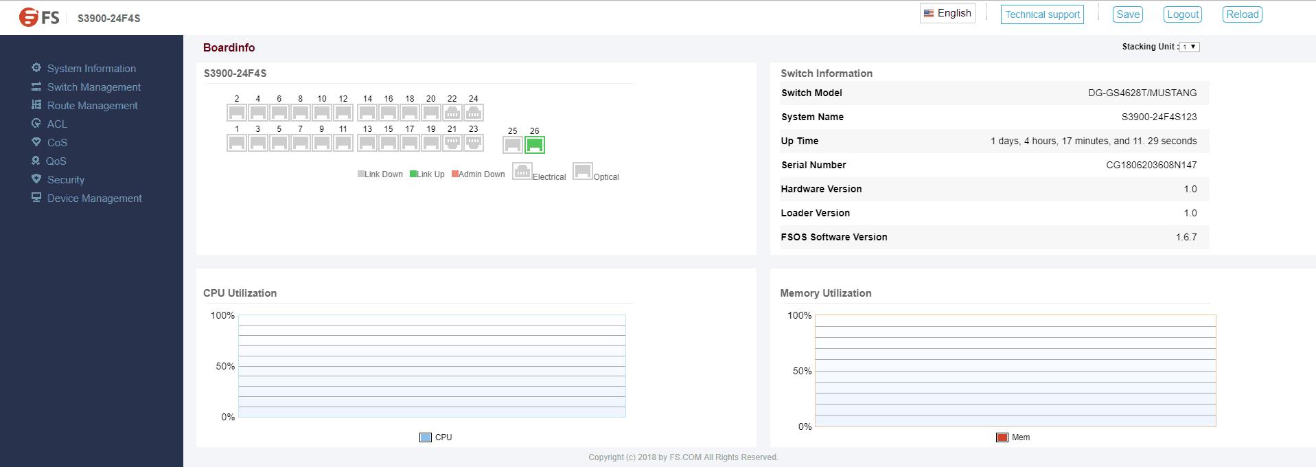 Configuration Status