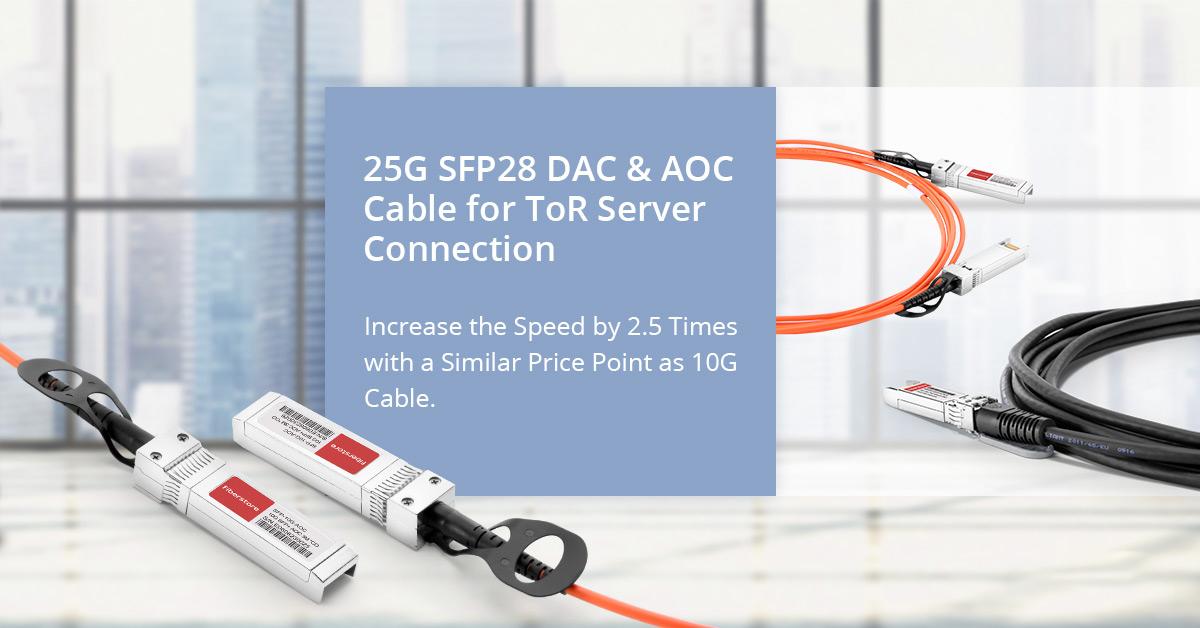 25G DAC/AOC Cables