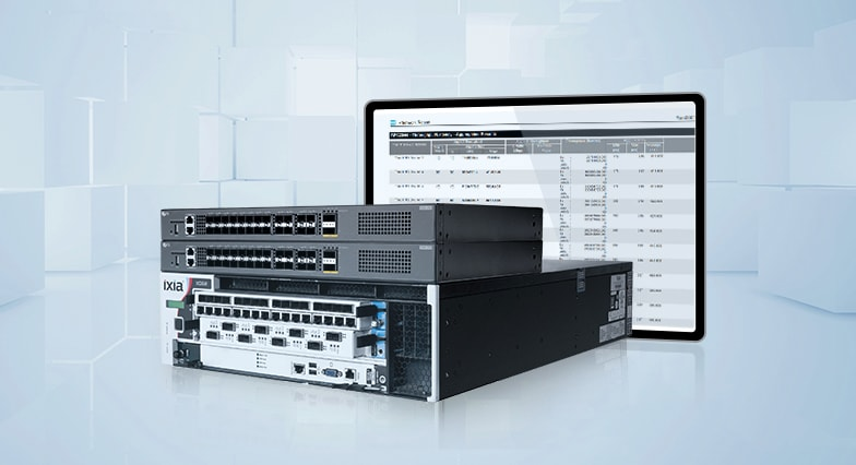 Prueba Ixia RFC2544 para switch S5860-20SQ