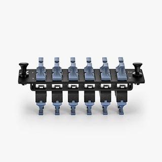 12 портов MTP® панель адаптера