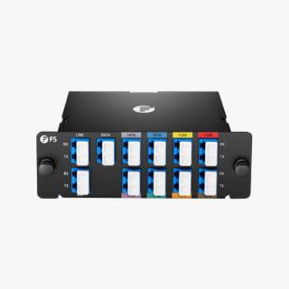 8-канальный, высокоплотный, CWDM Mux Demux