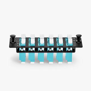 24F LC OM4 Adapter Panel