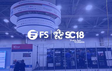 FS Participates in SC18 as a SCinet Contributor