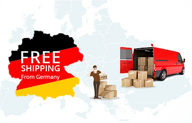 FS.COM German Warehouse Free Shipping Notice