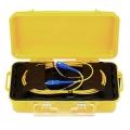 500m SC UPC to SC UPC Single Mode Fiber Optic OTDR Launch Cable Box