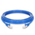 Cat7 Patchkabel, Snagless Abgeschirmtes SFTP RJ45 LAN Kabel, PVC CM, Blau, 25ft (7,6m)