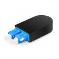SC/UPC デュプレックス シングルモード 光ファイバループバックモジュール(PVC、9/125)