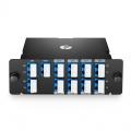 CWDM/DWDM Hybrid Solution, 8 Channels 100GHz C53-C60, with Monitor and Expansion Port, LC/UPC, Dual Fibre, High Density DWDM Mux Demux, FHD Plug-in Module