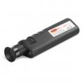 LC/SC/ST/FC/LSHコネクタ用400X携帯型光ファイバ検査顕微鏡(2.5mm & 1.25mmアダプター付き)