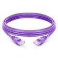 6.6ft (2m) Cat5e Snagless Unshielded (UTP) PVC Ethernet Network Patch Cable, Purple