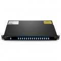 16 Channels C27-C42, LC/UPC, Dual Fiber DWDM Mux Demux, 1U Rack Mount