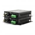 Multiplexeur Vidéo Ethernet, 1 Canal Vidéo & 1 Canal Données Bidirectionnelles