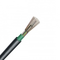 Cable GYTA 12 fibras monomodo 9/125 OS2, blindaje sencillo chaqueta sencilla, tubo suelto, impelmeable para exterior