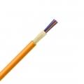 6 fibras multimodo 62.5/125 OM1, Riser, Cable GJFJV para distribución interior con tubo apretado ajustada sin unificada